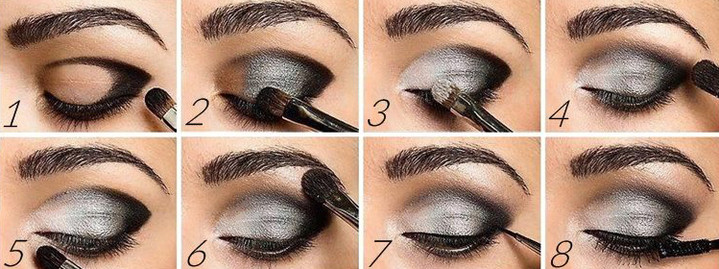 Стрелки для глаз smoky eye